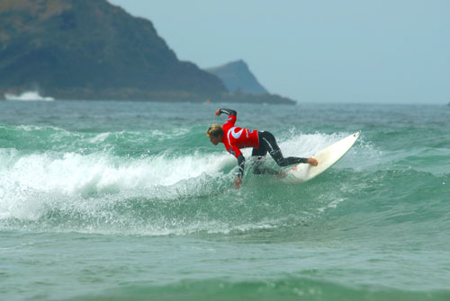 Newquay surfing