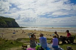 Our local beaches are Portreath and Porthtowan.