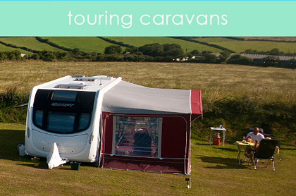 Globe Vale Touring Caravans in the Meadow