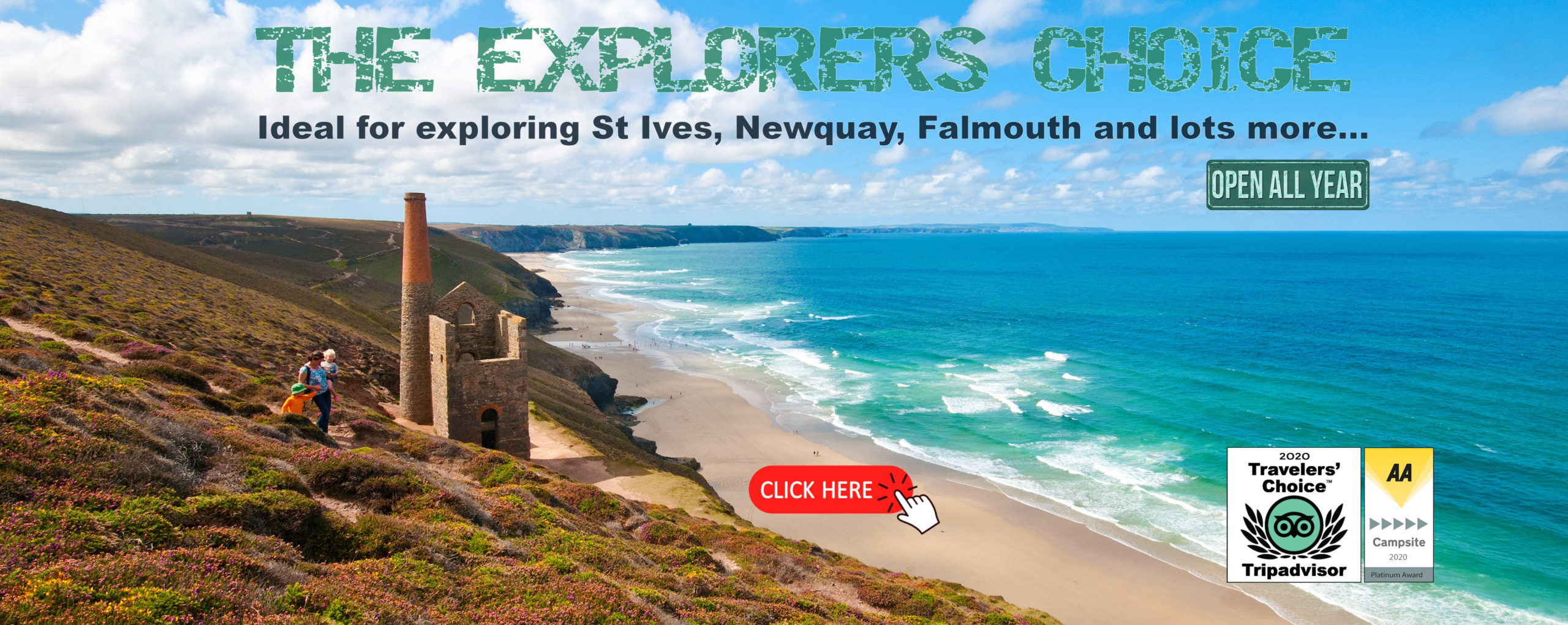 The Explorers Choice Banner