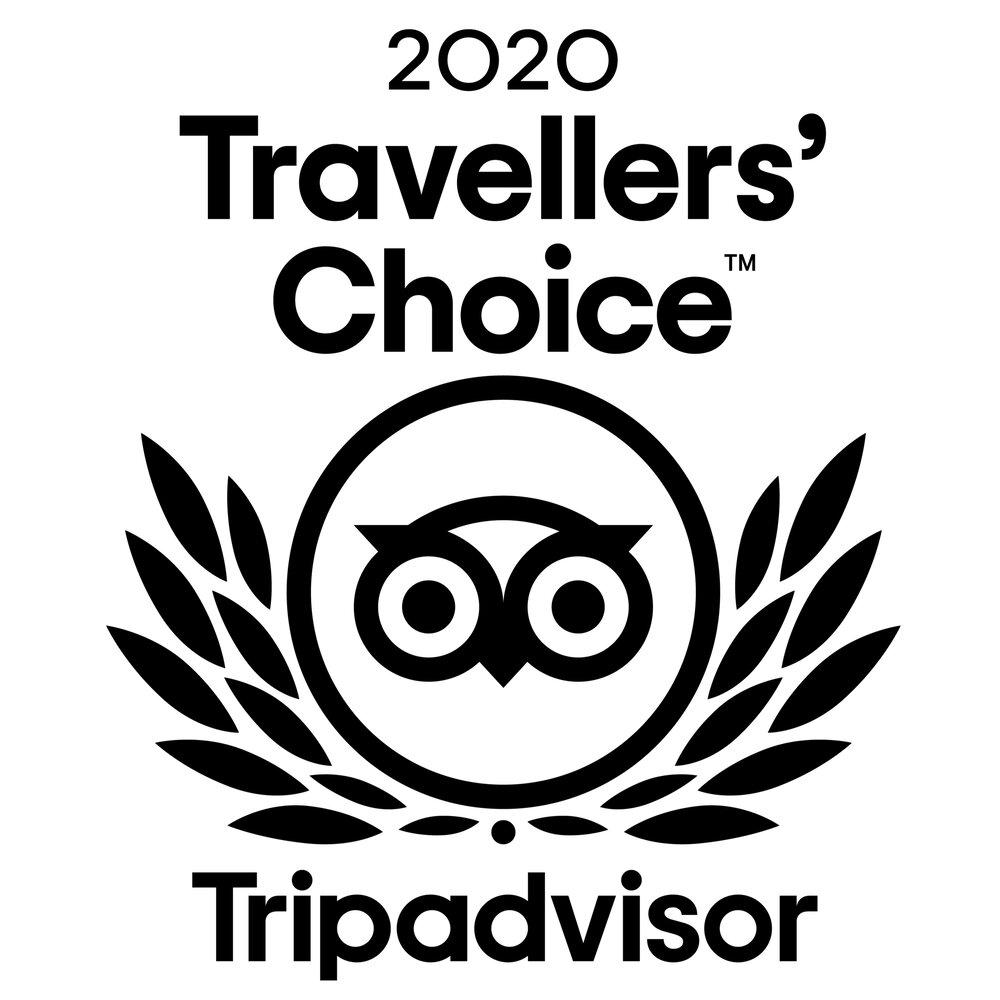 Travellers' Choice Tripadvisor badge